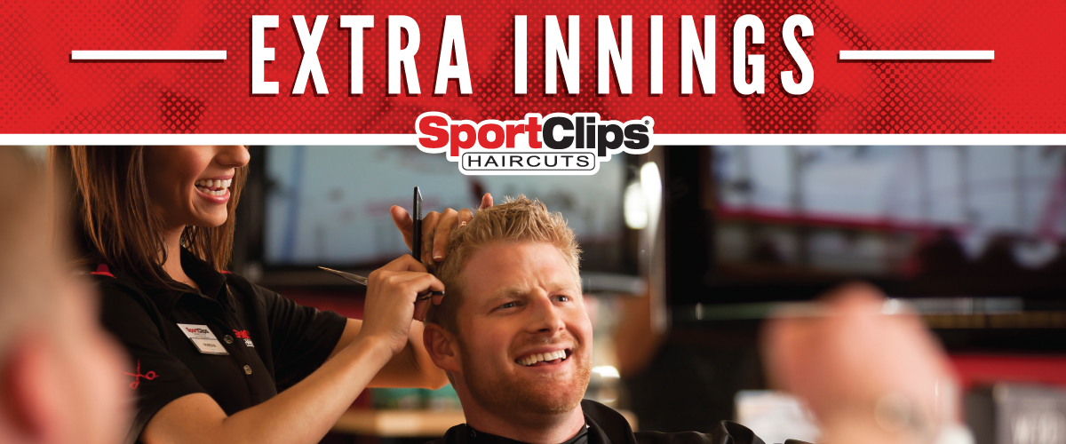 The Sport Clips Haircuts of Buchanan Crossroads East Extra Innings Offerings